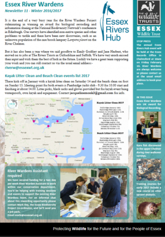 River Wardens Newsletter December 2016