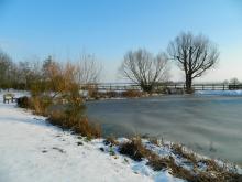 Abbotts Hall Farm in Winter. Photo: Essex Wildlife Trust